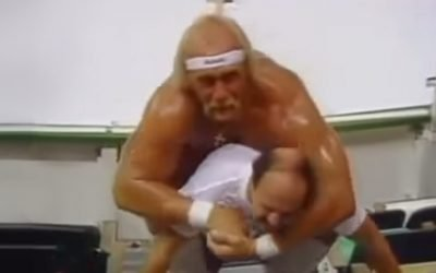 Mean Gene Hits The Gym With Hogan And Realizes What A Real Workout Feels Like