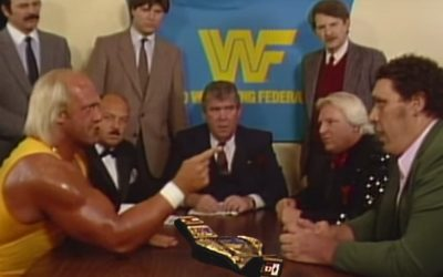 Hulk Hogan VS André The Giant – The Contract That Changed The Wrestling World Forever