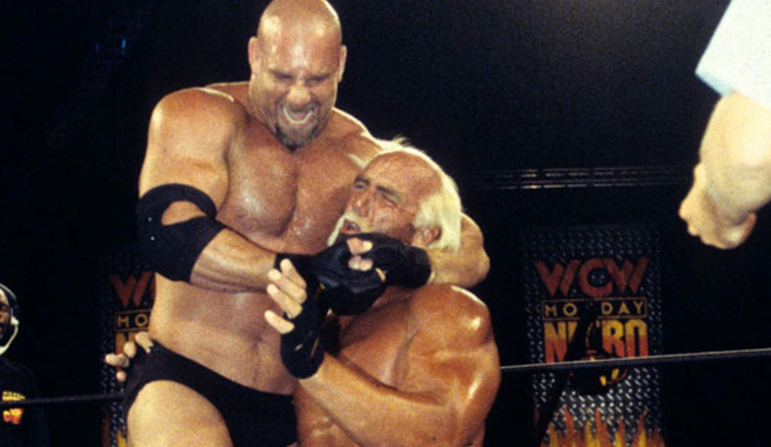 Goldberg VS Hollywood Hogan – Passing The Heavyweight Title Torch In The WCW