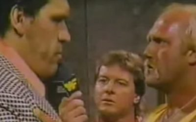 André The Giant Turns On Hulk Hogan For A Shot At The Heavyweight Title