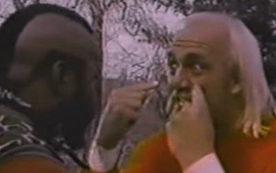 Mr. T & Hulk Hogan Show All The Hulkamaniacs What It Takes To Train For WrestleMania 1