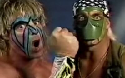 Ultimate Warrior And Hulk Hogan Prepare For SummerSlam 91′ – The Match Made In Hell