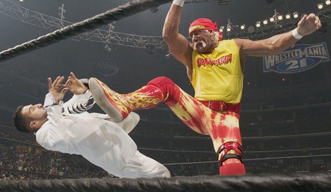 Dropping The Big Boot On Bullies Since WrestleMania 21 – Hulk Hogan Rescues Eugene
