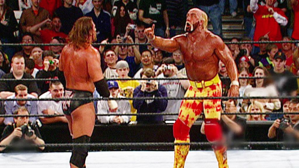 Hulk Hogan's Defeats HHH for the Undisputed