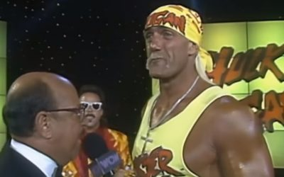 Hulk Hogan arrives in WCW
