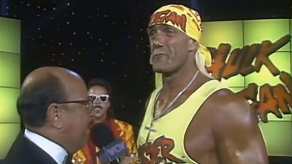 Hulk Hogan arrives in WCW