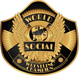 World Championship Belt Style Icon for Social Media