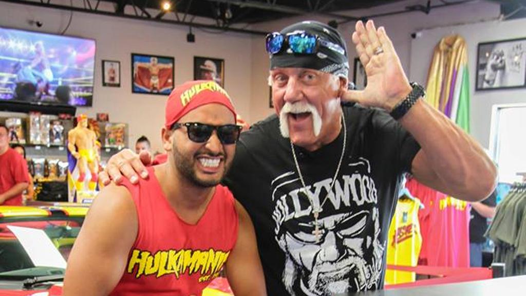 The Hulkster took over Orlando!