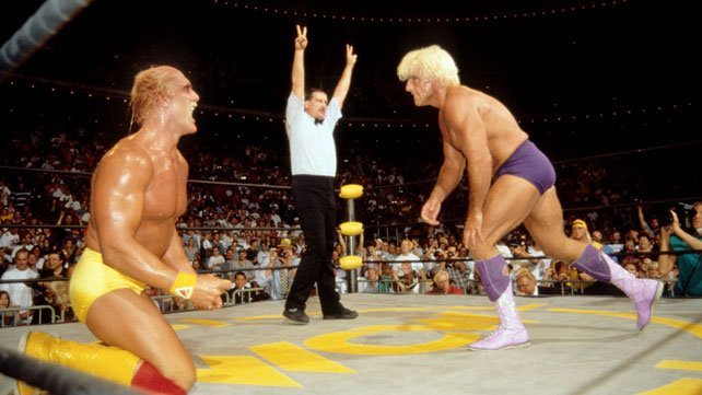 On This Day in 1994, Hulk Hogan wrestled Ric Flair In One of the Biggest Matches in WCW History