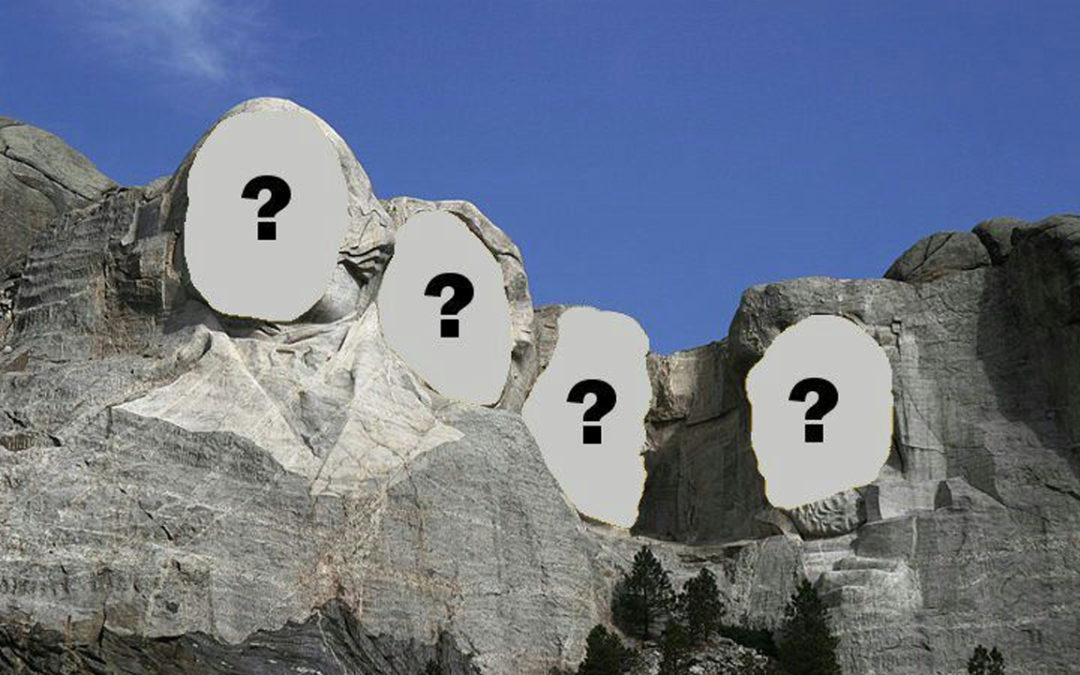 Ok, maniacs. I want to know your Mount Rushmore of Professional Wrestling.
