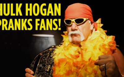 Hulk Hogan® Pranks Fans at Madame Tussauds
